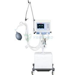 Medical Ventilador ICU móvil con compresor de aire WDH-1