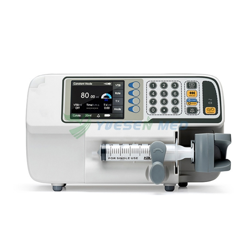 Medical infusion syringe pump YSZS-610 single channel